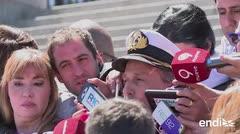 Seis días sin contacto con el submarino argentino