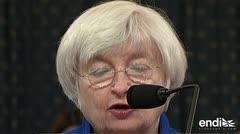 """Yellen """"muy preocupada"""" por creciente deuda de Estados Unidos"""