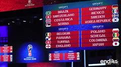 Brasil y Argentina evitan a España en fase de grupos del Mundial