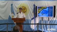 """La búsqueda del submarino argentino es """"como buscar un cigarrillo en una cancha"""""""