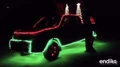 Llevan la Navidad sobre ruedas
