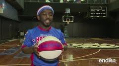 "El 'Michael Jordan' de 3' 28"" brilla en los Harlem Globetrotters"
