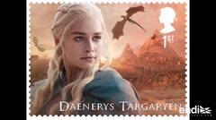 Serie de sellos británica rinde homenaje a Game of Thrones