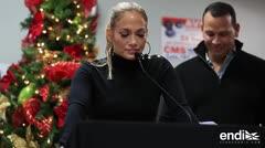 """A Jennifer López le alarma la """"lenta"""" recuperación de Puerto Rico tras María"""