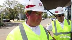 Entrevista con el encargado de la restauración del sistema eléctrico