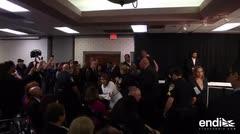 Interrumpen a gritos una conferencia de Ricardo Rosselló en Florida