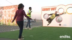 Mujeres sauditas asisten por primera vez a un partido de fútbol
