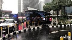 Al menos 75 heridos en derrumbe en bolsa de Yakarta