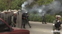 Muertos y detenidos en cerco contra piloto rebelde venezolano