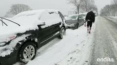 Intensas nevadas en el sur de Estados Unidos