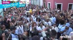 Color y tradición en el concurrido desfile de la SanSe