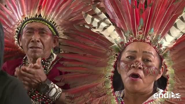 Miles de indígenas amazónicos reunidos en Perú para ver al papa