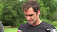 A los 36 años, Roger Federer descarta que la edad sea problema