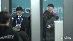 Los atletas norcoreanos llegan a Corea del Sur para las Olimpiadas invernales