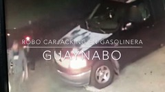 """Dúo de criminales comete un """"carjacking"""" en gasolinera de Guaynabo"""