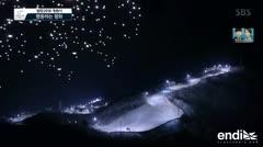 Drones engalanan el cielo de las Olimpiadas en Corea del Sur