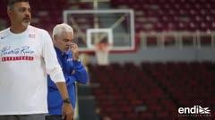 El Equipo Nacional de Baloncesto masculino realiza su primera práctica