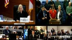 Sospechoso de disparar a la escuela de Florida comparece al tribunal