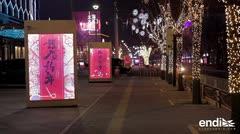 China celebra el año nuevo lunar sin fuegos artificiales