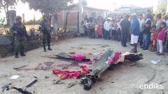 Un helicóptero cae mientras inspeccionaba el epicentro del sismo en México