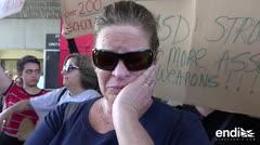 """""""Qué vergüenza"""": el grito de los estudiantes sobrevivientes en Parkland"""