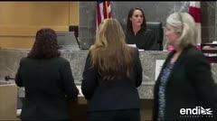 Nikolas Cruz llega a una audiencia procesal en Florida