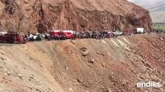 Más de treinta muertos al caer otro autobús en Perú