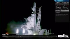 SpaceX lanza un satélite español desde California