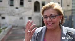 Norma Burgos llega a Justicia a declarar sobre el caso de la CEE