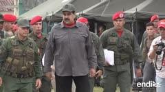 """Maduro ordena plan militar contra """"guerra al sistema eléctrico"""""""