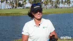 """Los trucos y """"palos"""" de la golfista puertorriqueña Marife Torres"""