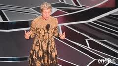 El Oscar para la mejor actriz se lo lleva Frances McDormand