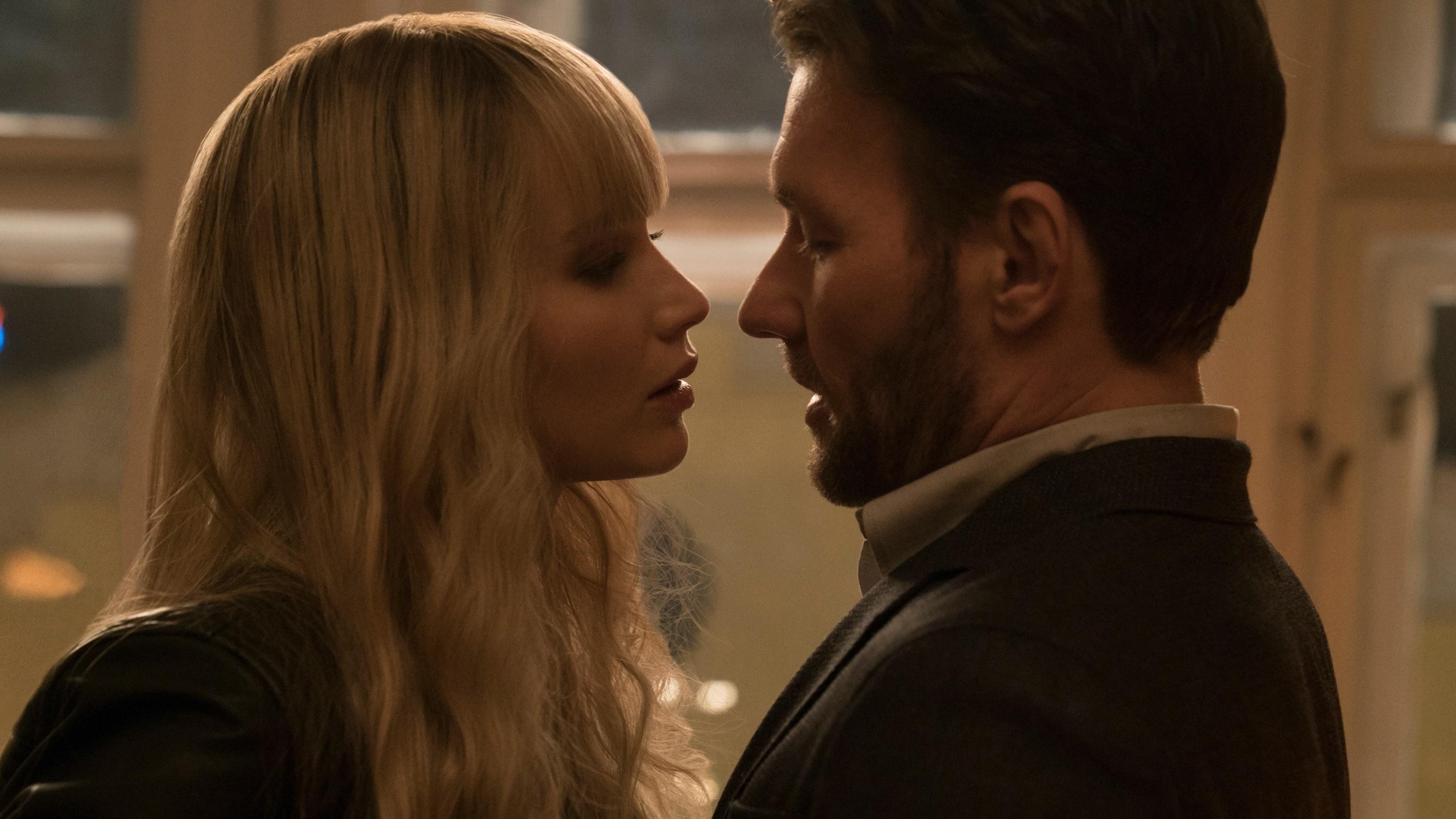 """El único momento en que Jennifer Lawrence sonrió en la película """"Red Sparrow"""""""