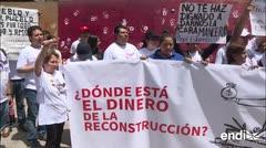 A seis meses de sismo en México damnificados piden ayuda