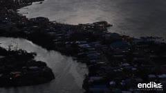 Así se ve la oscuridad de la isla a seis meses de María
