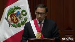 """El nuevo presidente de Perú promete ser """"firme en la lucha contra la corrupción"""""""