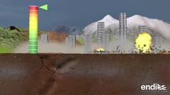 Esto es lo que ocurre durante un terremoto