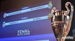 Se definen los pareos de semifinal de la Liga de Campeones