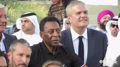 """Pelé: """"Pienso que Neymar estará en forma para la Copa del Mundo"""""""