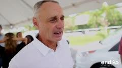 El comisionado de las Grandes Ligas apuesta a Puerto Rico
