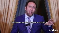 Nicolas Cage destaca la belleza puertorriqueña al llegar a la isla