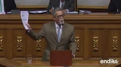 El parlamento venezolano aprueba juicio simbólico contra Maduro