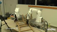 Científicos crean un robot capaz de armar una silla de Ikea