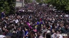 Renuncia el primer ministro de Armenia tras once días de protestas