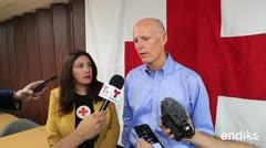 Rick Scott llega a Puerto Rico tras anunciar su nueva aspiración política