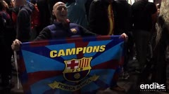 Barcelona festejó su 25º título de Liga