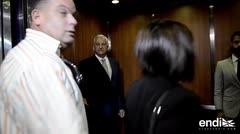 Héctor O'Neill sale del tribunal mientras los fiscales niegan la fragilidad de la testigo