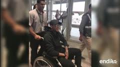 Neymar de regreso en París dos meses después de su lesión