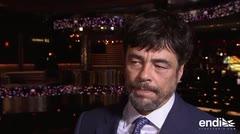 Benicio del Toro saca la cara por Puerto Rico en una entrevista