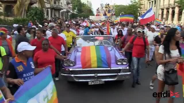 Revolución de colores en parada gay en Cuba